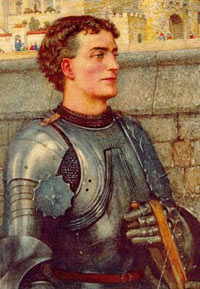 Sir Lancelot (Sir Launcelot) of the court of King Arthur